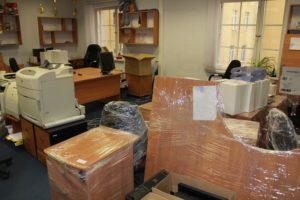 Переезд офиса во Владивостоке